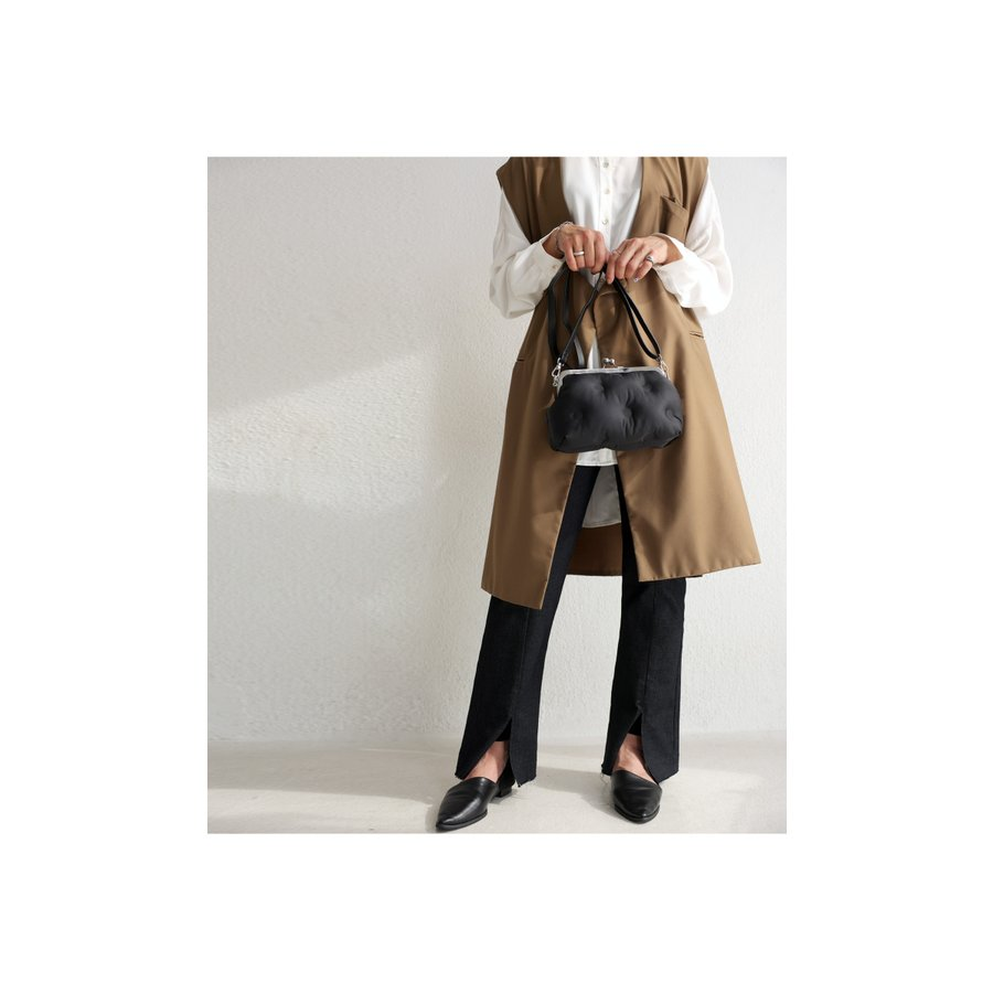 がま口クッションバッグ バッグ レディース 鞄 送料無料・5月10日0時〜再販。メール便不可 母の日|antiqua|03
