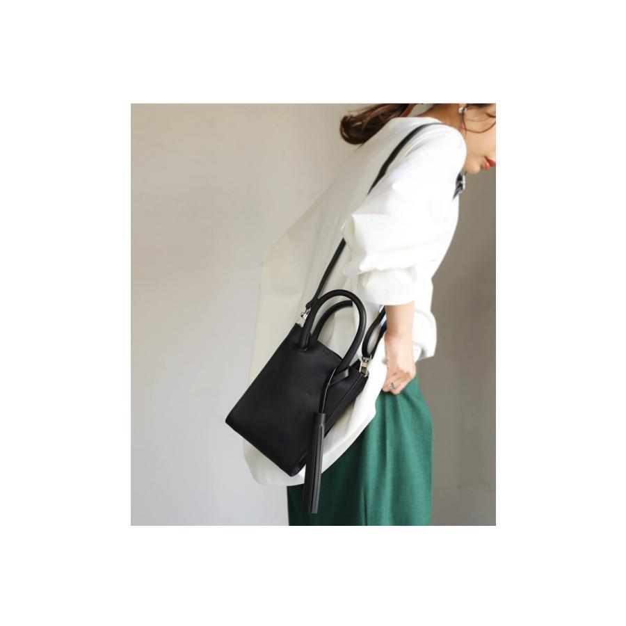 フリンジ付きミニショルダー ショルダーバッグ レディース 鞄・5月15日0時〜再販。メール便不可 母の日|antiqua|03