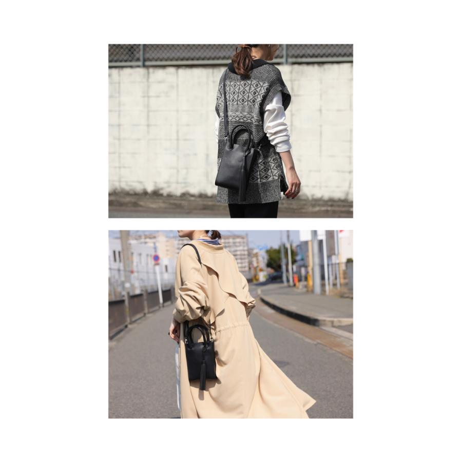 フリンジ付きミニショルダー ショルダーバッグ レディース 鞄・5月15日0時〜再販。メール便不可 母の日|antiqua|04