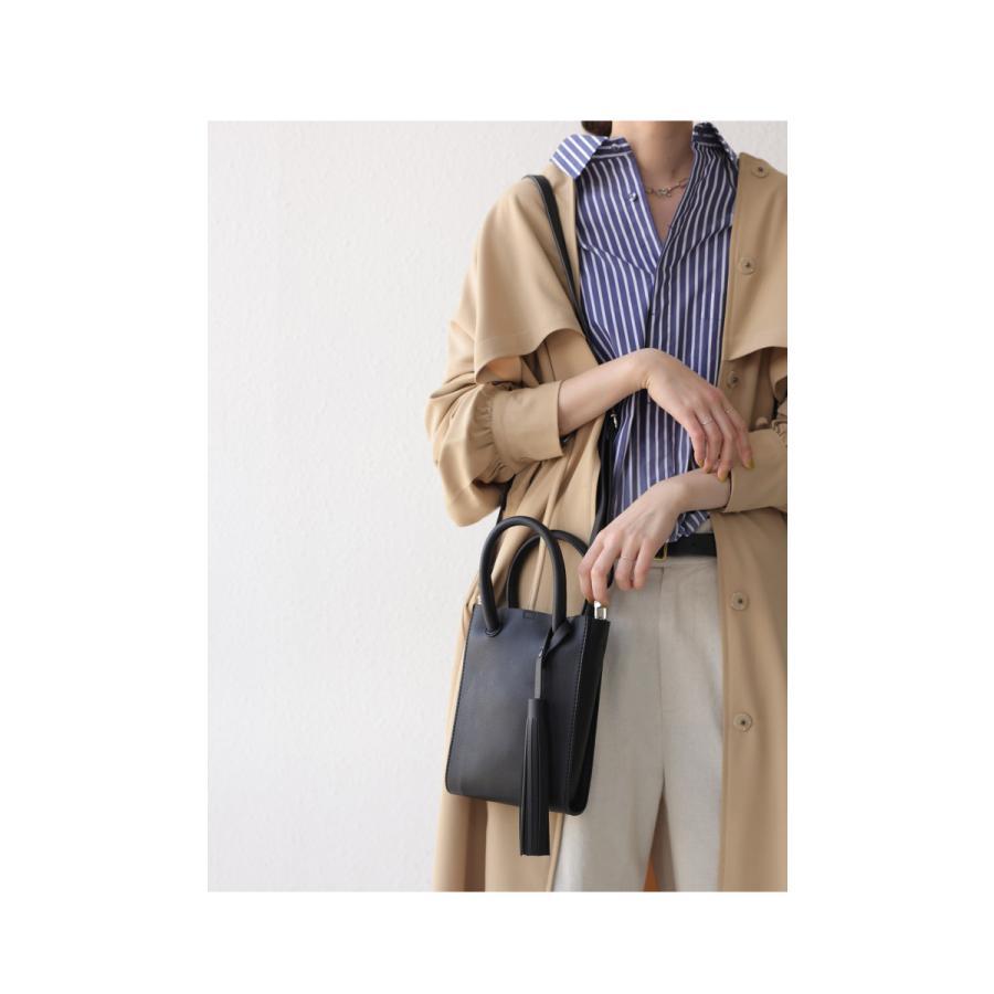 フリンジ付きミニショルダー ショルダーバッグ レディース 鞄・5月15日0時〜再販。メール便不可 母の日|antiqua|09