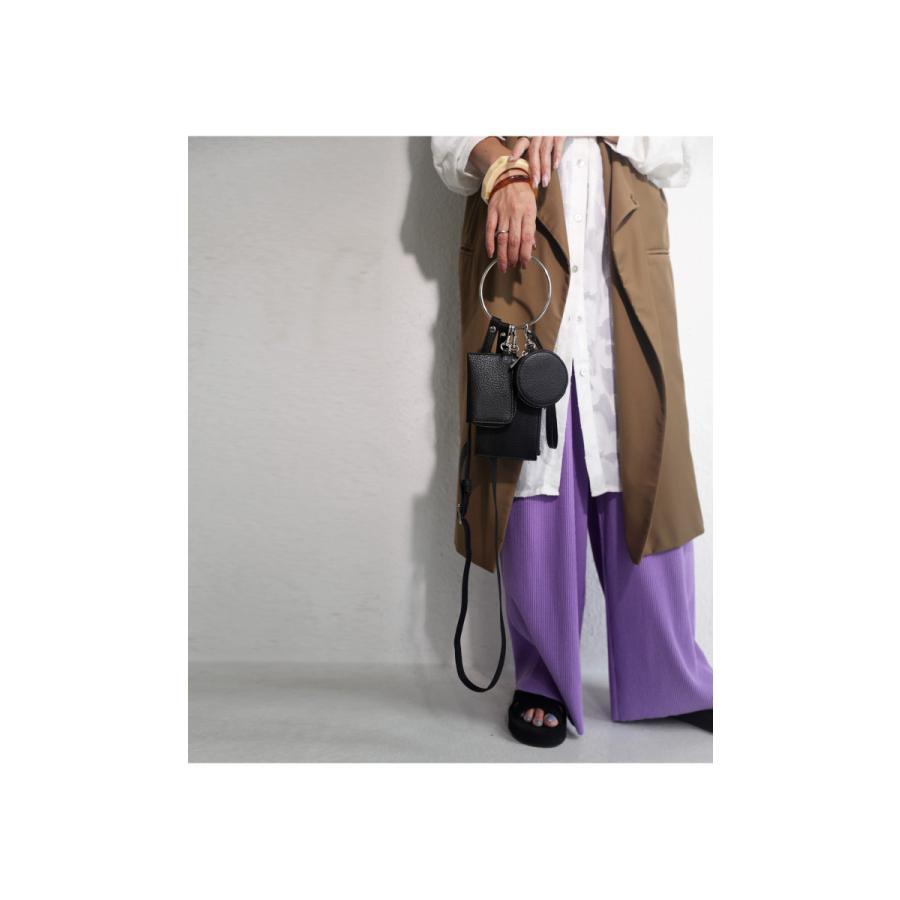 3連リストレットバッグ バッグ 鞄 ショルダーバッグ・メール便不可 antiqua 12