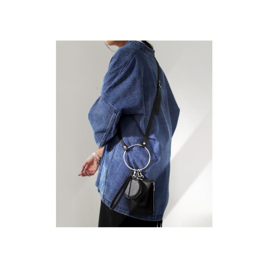 3連リストレットバッグ バッグ 鞄 ショルダーバッグ・メール便不可 antiqua 13