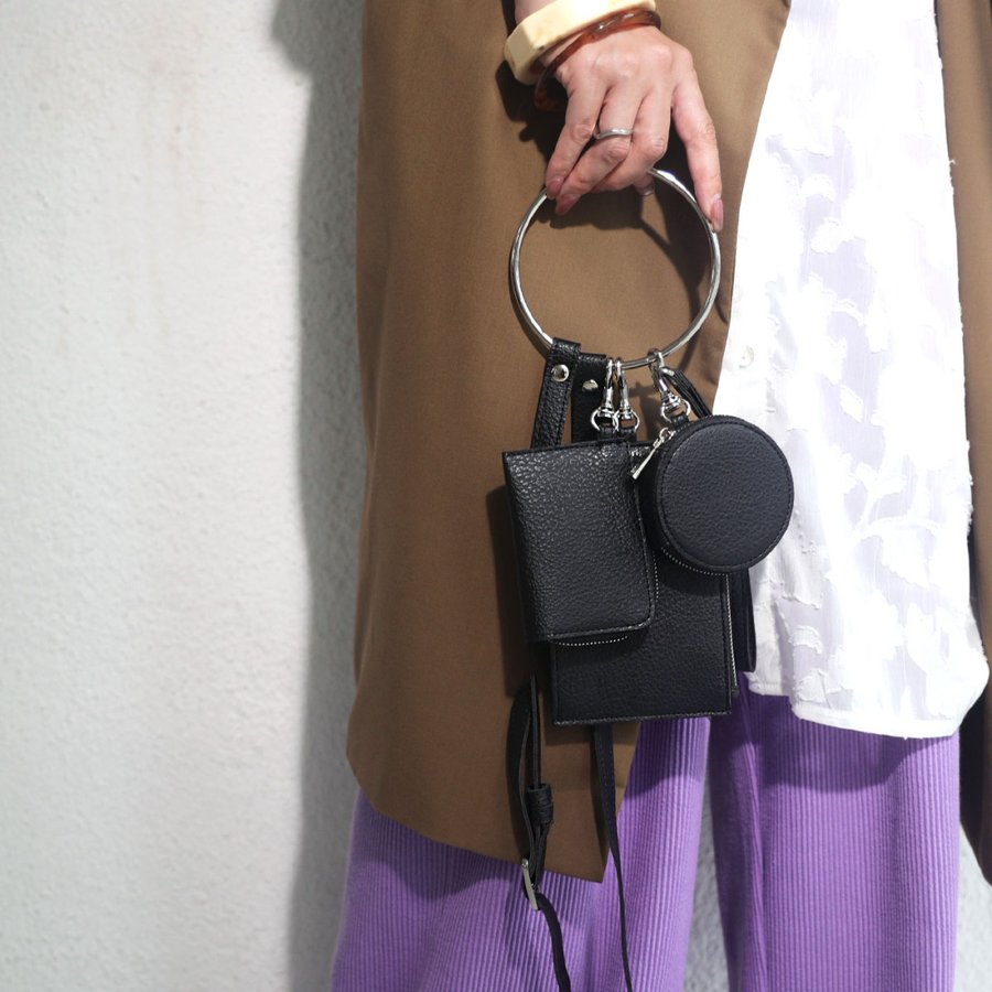 3連リストレットバッグ バッグ 鞄 ショルダーバッグ・メール便不可 antiqua 16