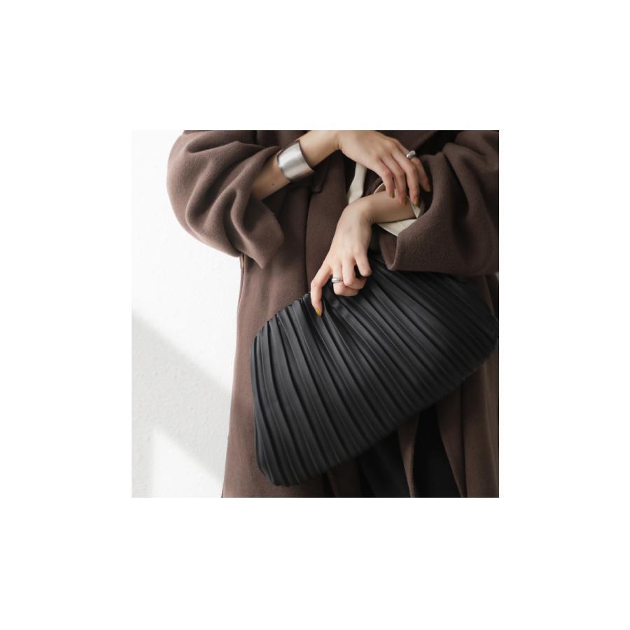 大人気商品!再入荷予定あり(再入荷ボタン登録でメールでお知らせ)プリーツバッグ クラッチバッグ バッグ レディース 鞄 送料無料・メール便不可 antiqua 11