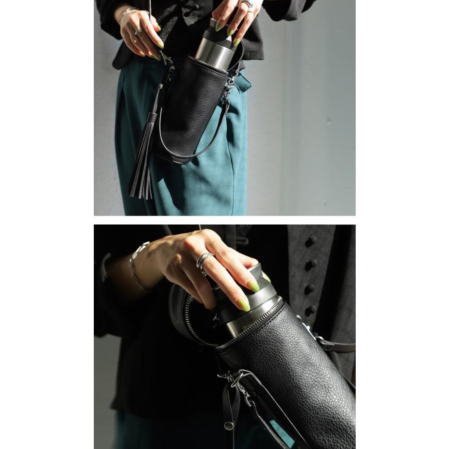 ボトルホルダー ボトルバッグ 鞄 肩掛け 手提げ ペットボトル・8月9日10時〜発売。メール便不可|antiqua|05