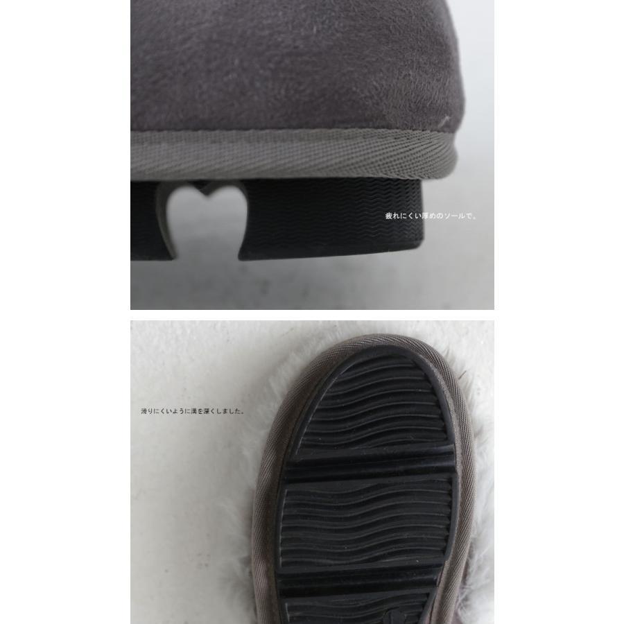 靴 モカシン ファー オリジナル タッセル付き極ふわファーシューズ 送料無料・再販。メール便不可|antiqua|11