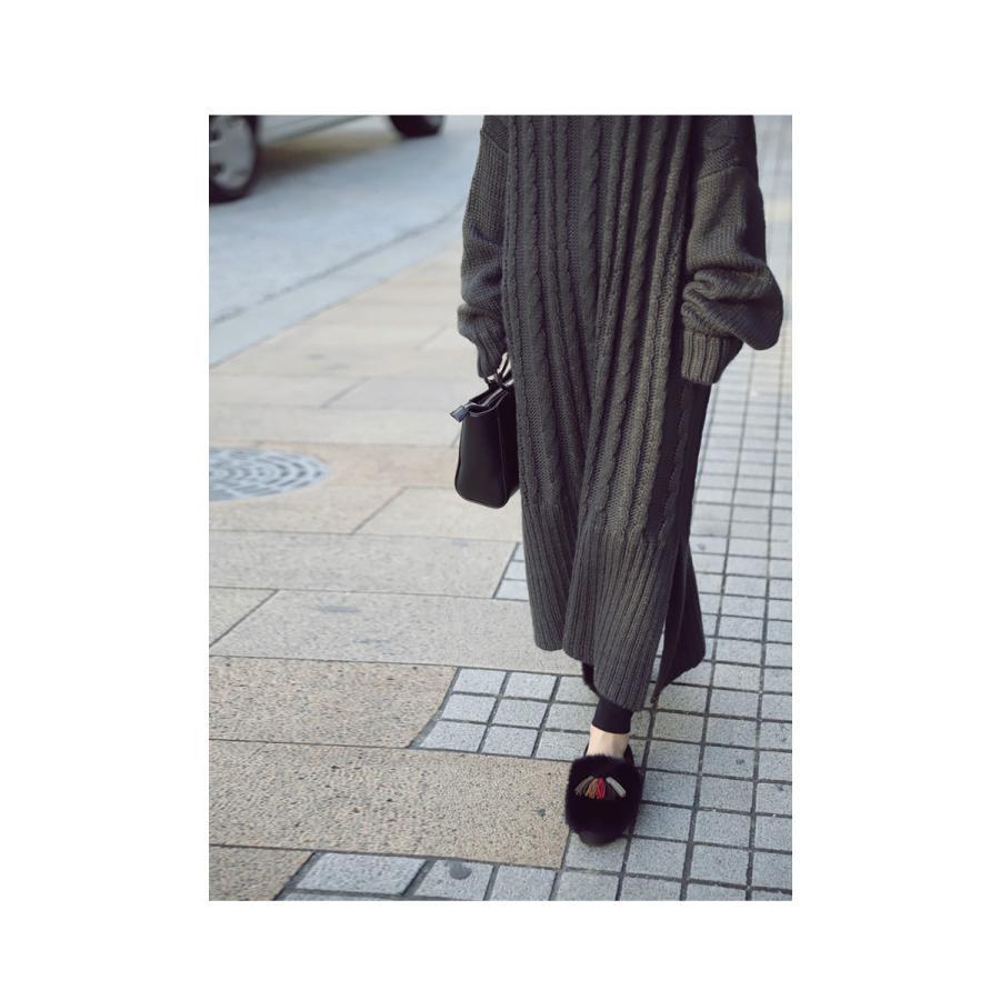 靴 モカシン ファー オリジナル タッセル付き極ふわファーシューズ 送料無料・再販。メール便不可|antiqua|14