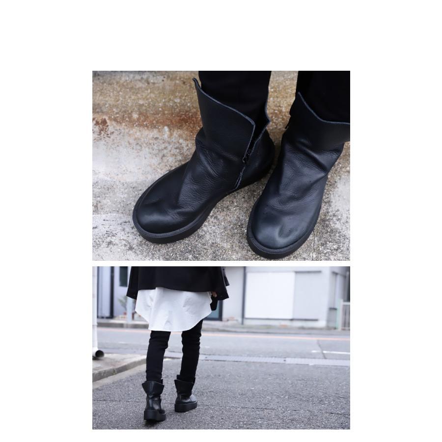 本革デザインブーツ ブーツ レディース 靴 日本製 送料無料・9月9日10時〜再再販。メール便不可|antiqua|12