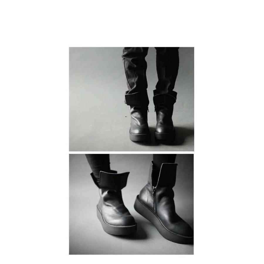 本革デザインブーツ ブーツ レディース 靴 日本製 送料無料・9月9日10時〜再再販。メール便不可|antiqua|13
