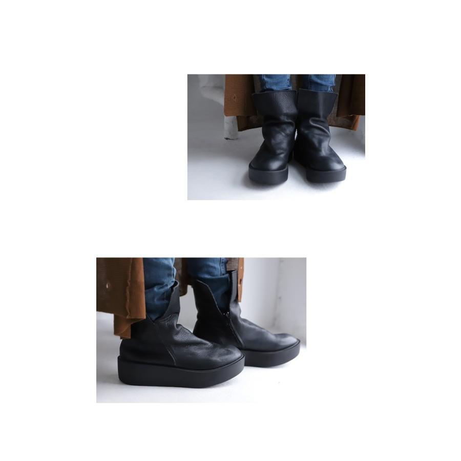 本革デザインブーツ ブーツ レディース 靴 日本製 送料無料・9月9日10時〜再再販。メール便不可|antiqua|15