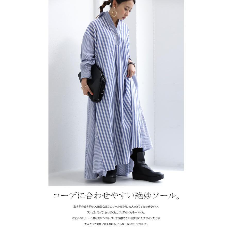 本革デザインブーツ ブーツ レディース 靴 日本製 送料無料・9月9日10時〜再再販。メール便不可|antiqua|16