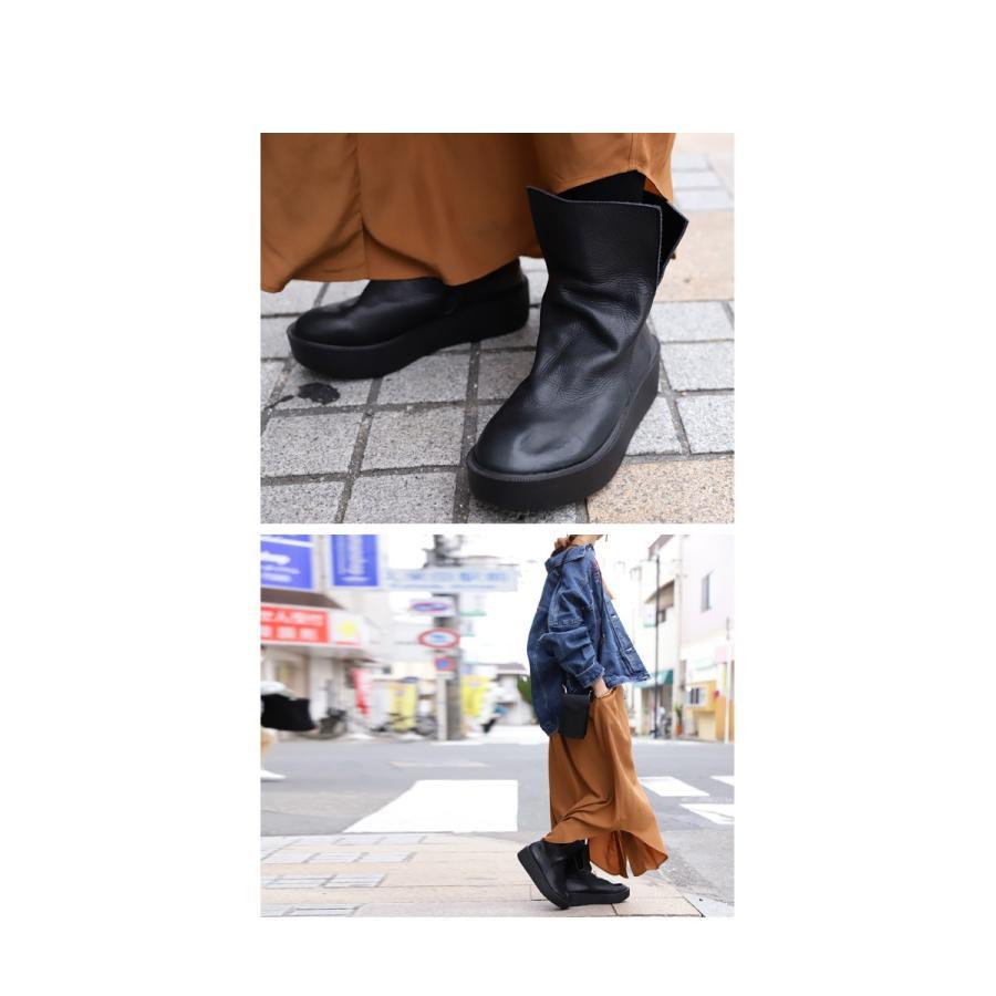 本革デザインブーツ ブーツ レディース 靴 日本製 送料無料・9月9日10時〜再再販。メール便不可|antiqua|17