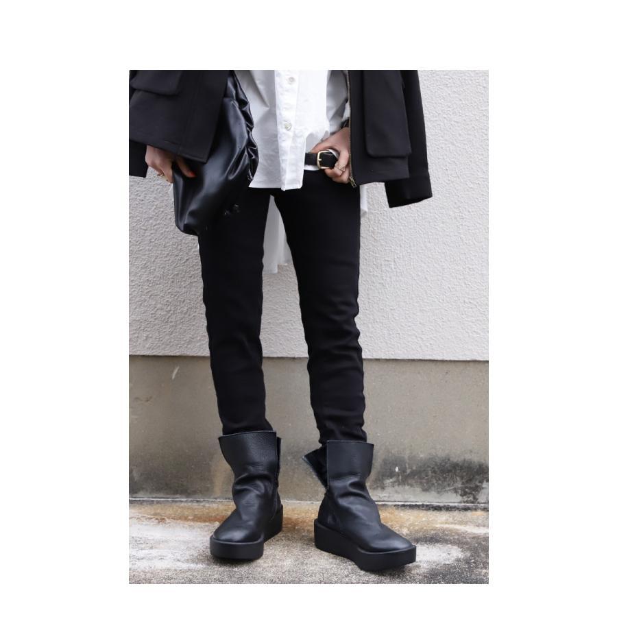 本革デザインブーツ ブーツ レディース 靴 日本製 送料無料・9月9日10時〜再再販。メール便不可|antiqua|10