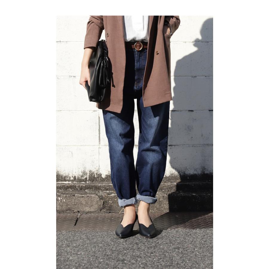 靴 合皮 パンプス オイル調 涙型 ティアドロップパンプス・再再販。メール便不可 母の日 antiqua 15