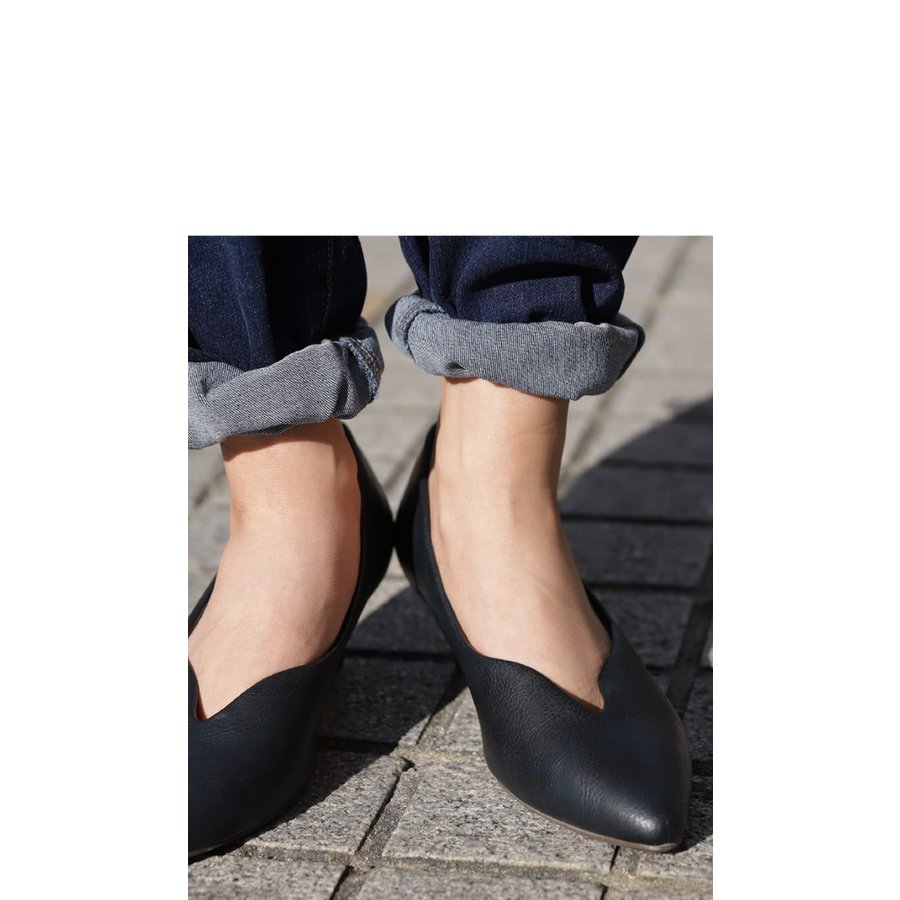 靴 合皮 パンプス オイル調 涙型 ティアドロップパンプス・再再販。メール便不可 母の日 antiqua 16