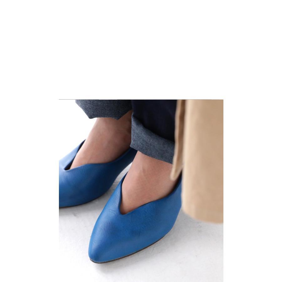 靴 合皮 パンプス オイル調 涙型 ティアドロップパンプス・再再販。メール便不可 母の日 antiqua 05