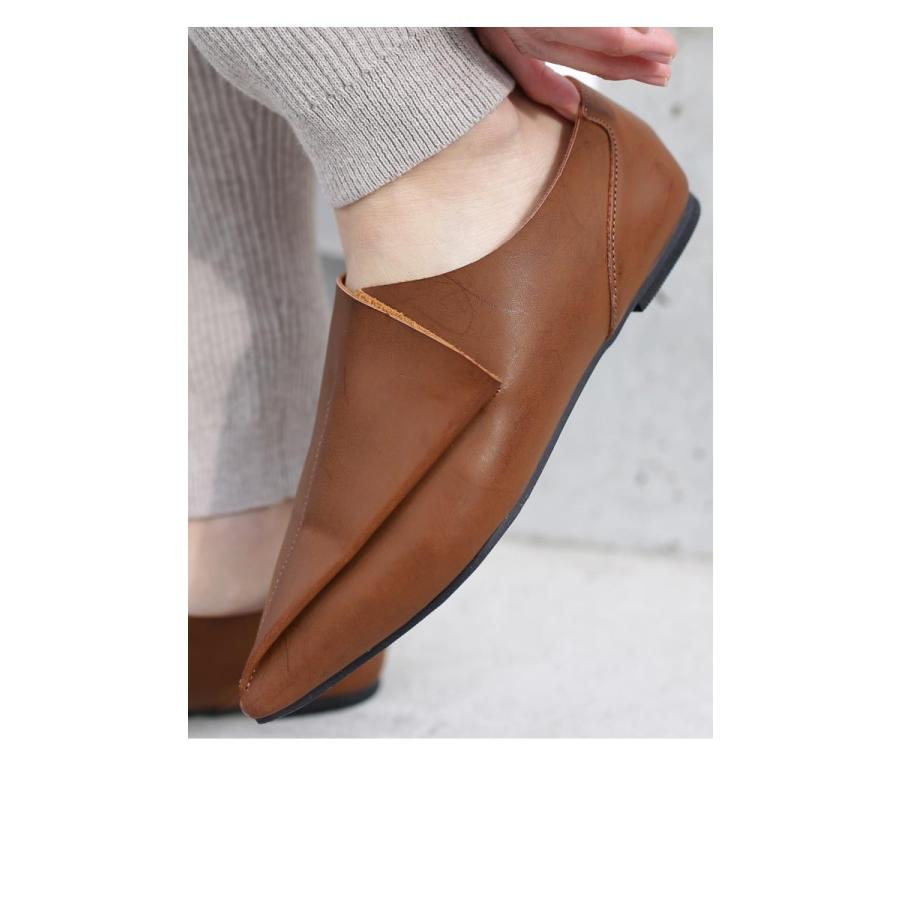 ポインテッドトゥシューズ 靴 パンプス 痛くない 送料無料。メール便不可 母の日|antiqua|05