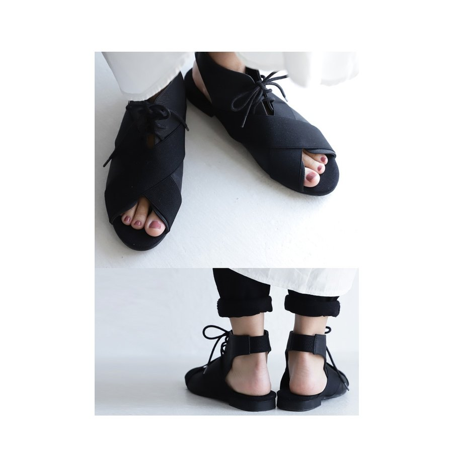 靴 サンダル レディース ゴアサンダル レースアップ レザーゴアサンダル・再販。メール便不可 母の日|antiqua|12