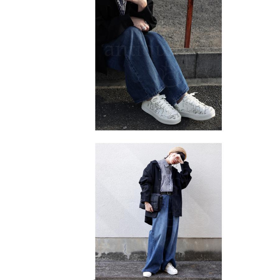 靴 シューズ スニーカー レディース 軽量 履きやすい MAP厚底スニーカー 送料無料・再再販。メール便不可 母の日|antiqua|13