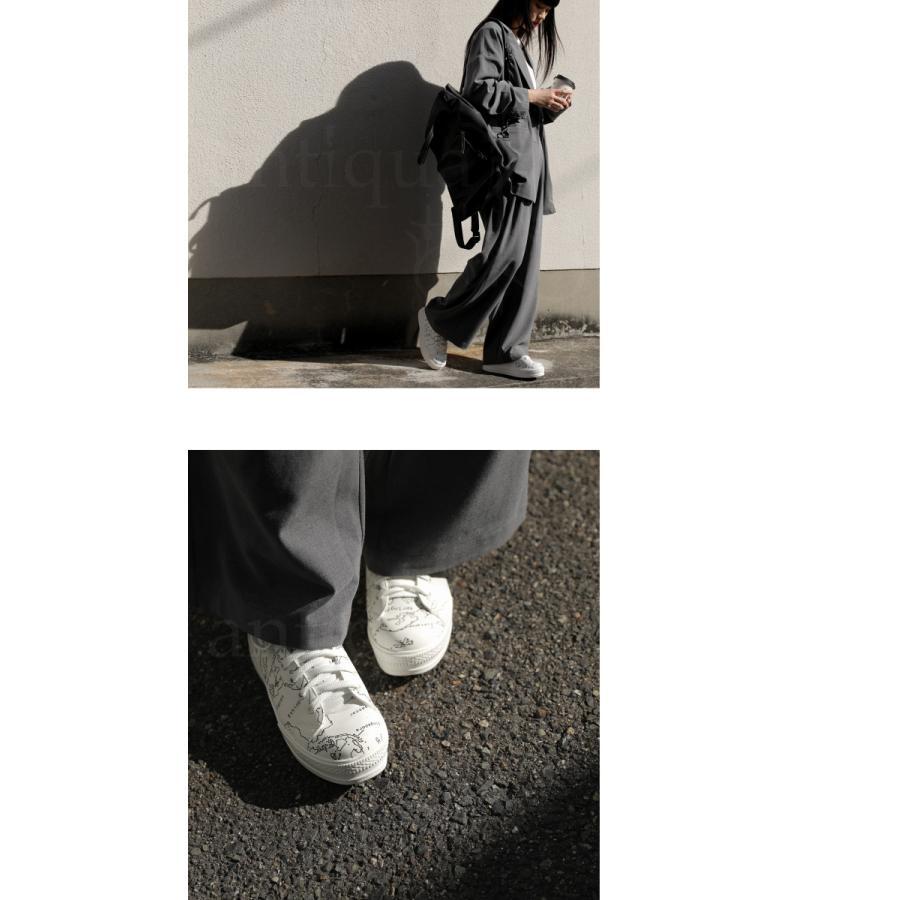 靴 シューズ スニーカー レディース 軽量 履きやすい MAP厚底スニーカー 送料無料・再再販。メール便不可 母の日|antiqua|10