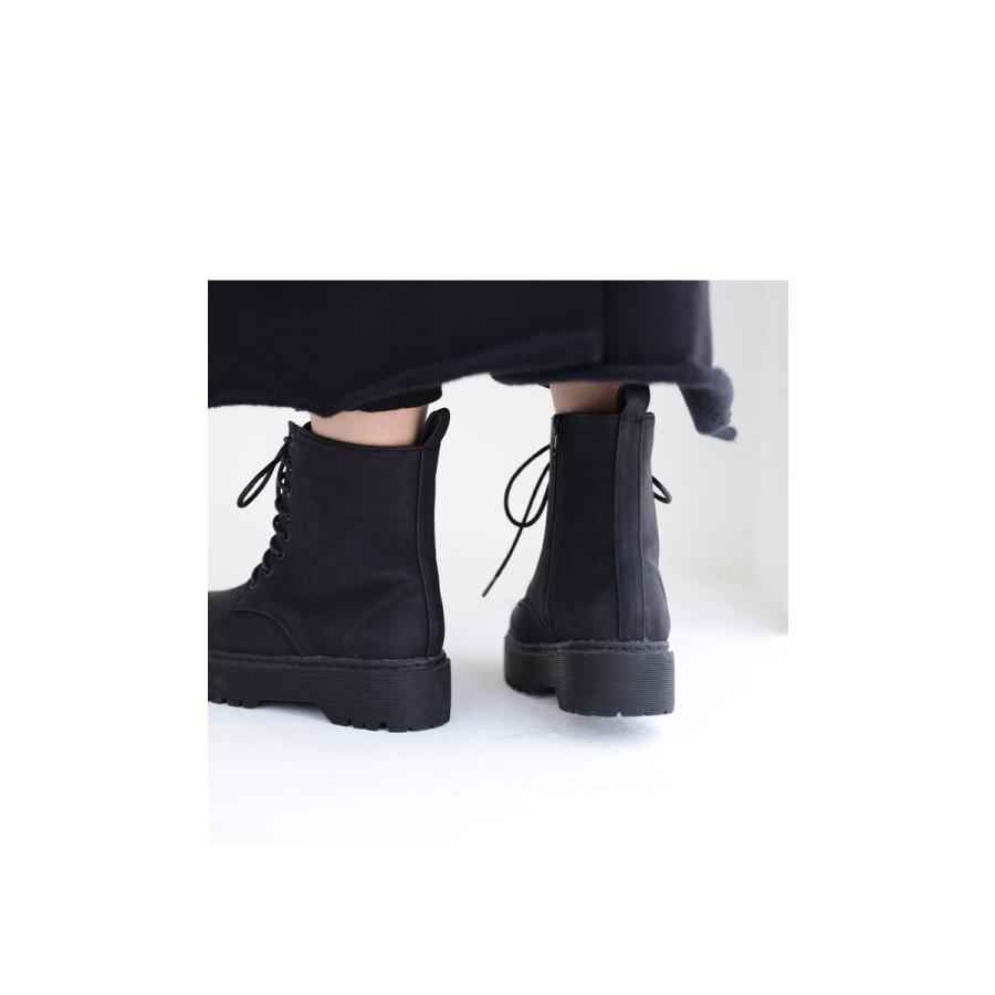 厚底ショートブーツ ブーツ レディース 靴 厚底 送料無料・9月29日10時〜再再販。メール便不可|antiqua|11