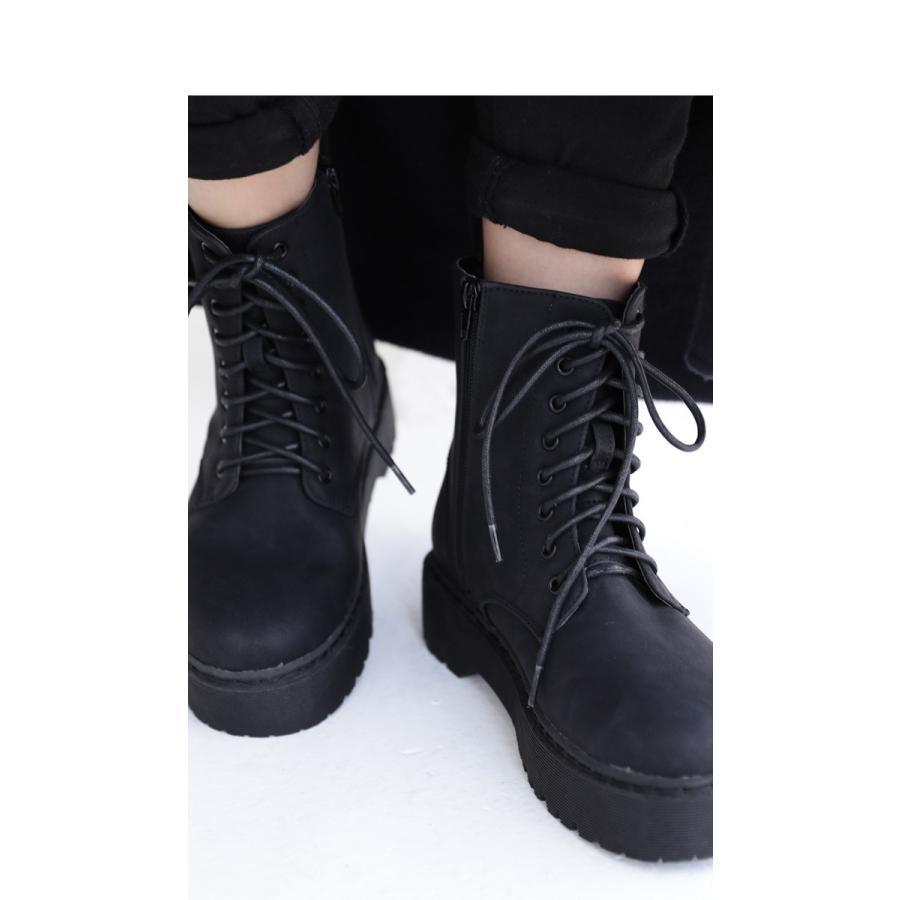 厚底ショートブーツ ブーツ レディース 靴 厚底 送料無料・9月29日10時〜再再販。メール便不可|antiqua|13