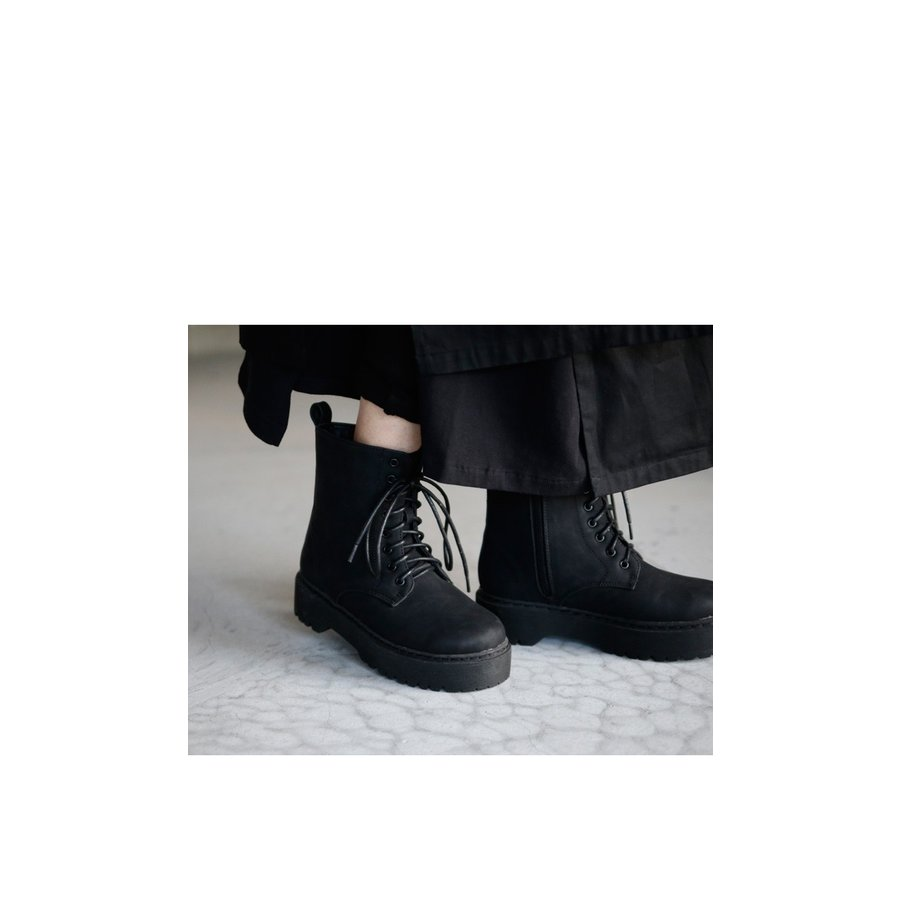 厚底ショートブーツ ブーツ レディース 靴 厚底 送料無料・9月29日10時〜再再販。メール便不可|antiqua|19