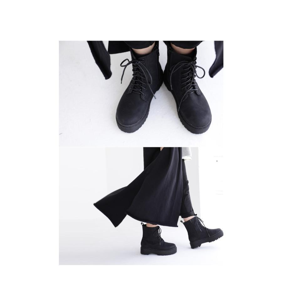 厚底ショートブーツ ブーツ レディース 靴 厚底 送料無料・9月29日10時〜再再販。メール便不可|antiqua|20