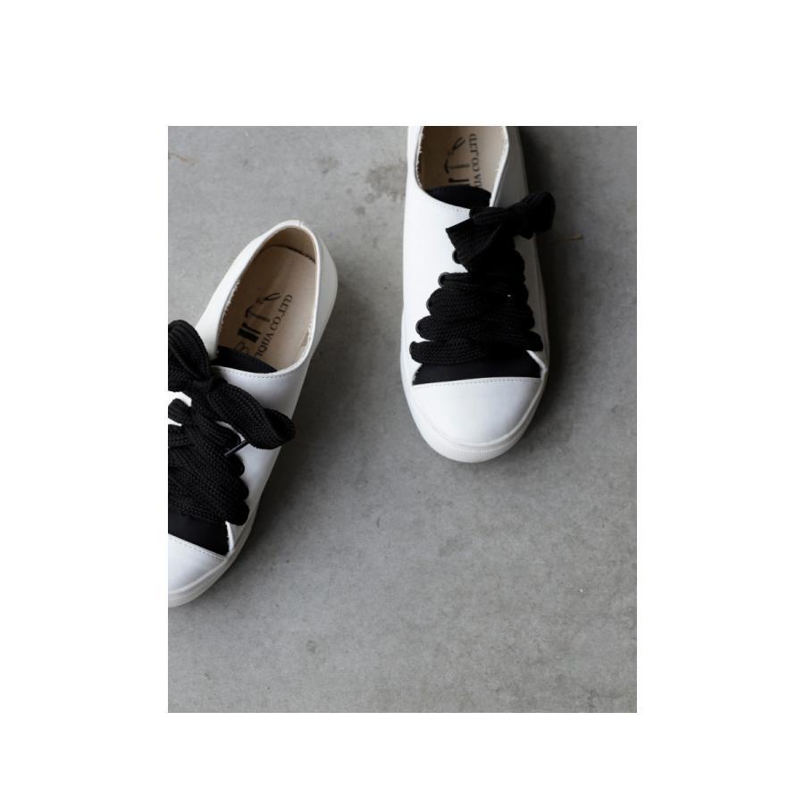 靴 シューズ スニーカー レディース 軽い 柔らかい バイカラースニーカー 送料無料・4月20日0時〜再再販。メール便不可|antiqua|09