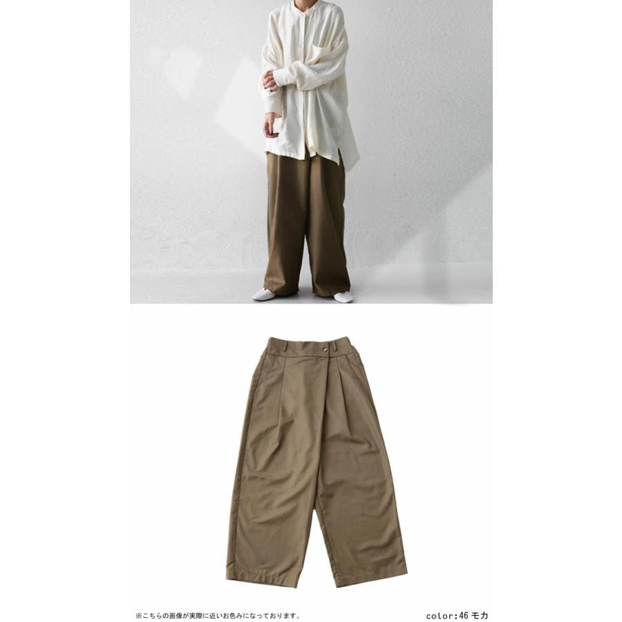 ウエストデザインパンツ パンツ レディース ワイド 送料無料・再再販。メール便不可|antiqua|09