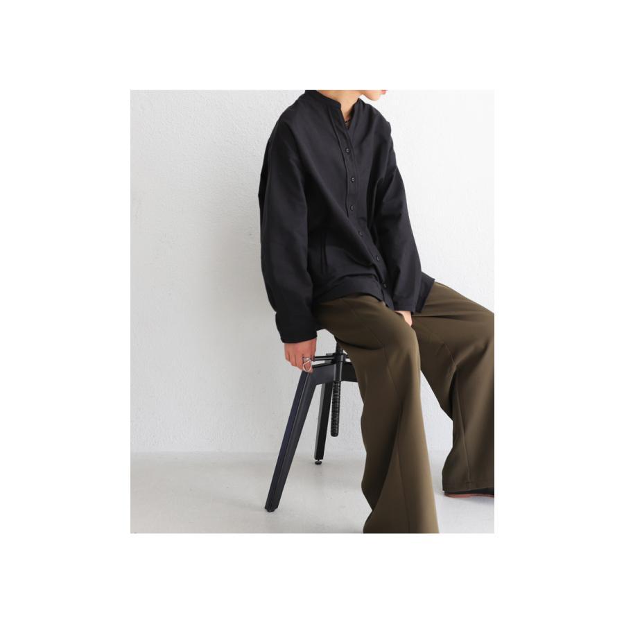スキッパーシャツ シャツ レディース トップス 送料無料・再再販。メール便不可 antiqua 11