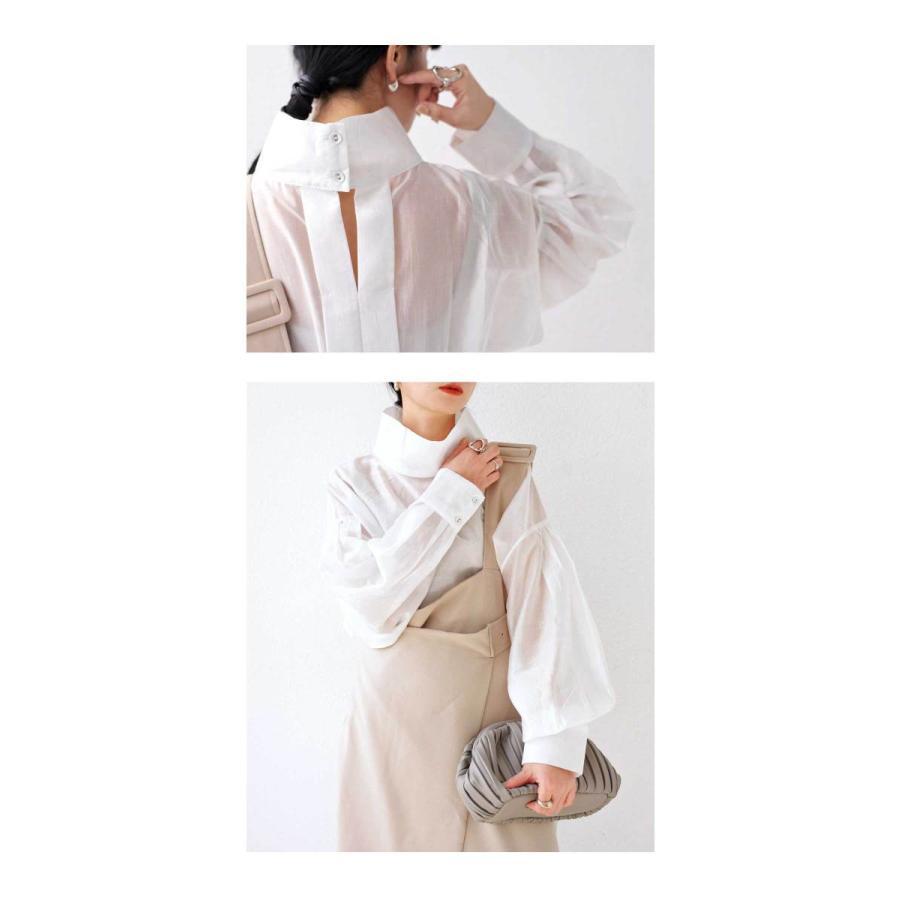 バックデザインシャツ シャツ レディース トップス 送料無料・再再販。100ptメール便可|antiqua|11