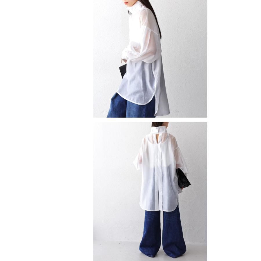 バックデザインシャツ シャツ レディース トップス 送料無料・再再販。100ptメール便可|antiqua|13