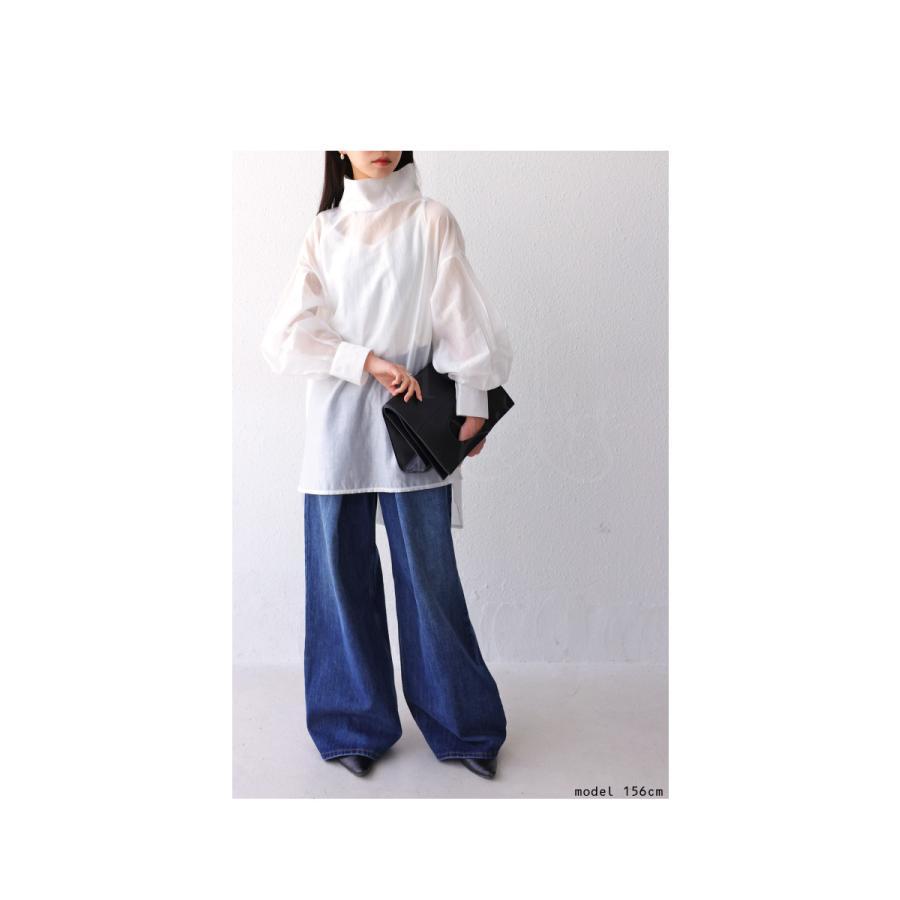 バックデザインシャツ シャツ レディース トップス 送料無料・再再販。100ptメール便可|antiqua|03
