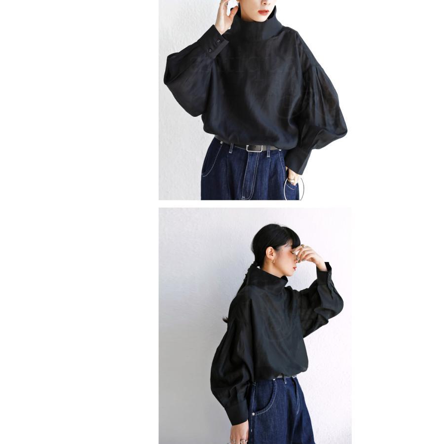 バックデザインシャツ シャツ レディース トップス 送料無料・再再販。100ptメール便可|antiqua|09
