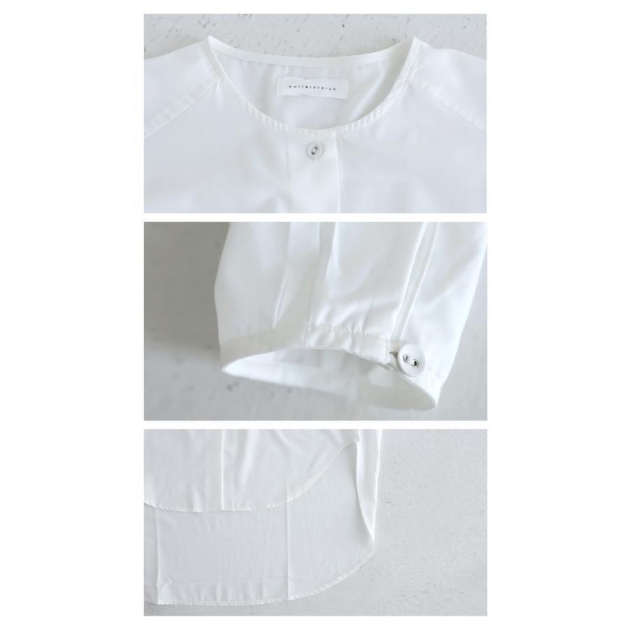 フロントスリットシャツ シャツ レディース 長袖 送料無料・再再販。メール便不可 antiqua 07