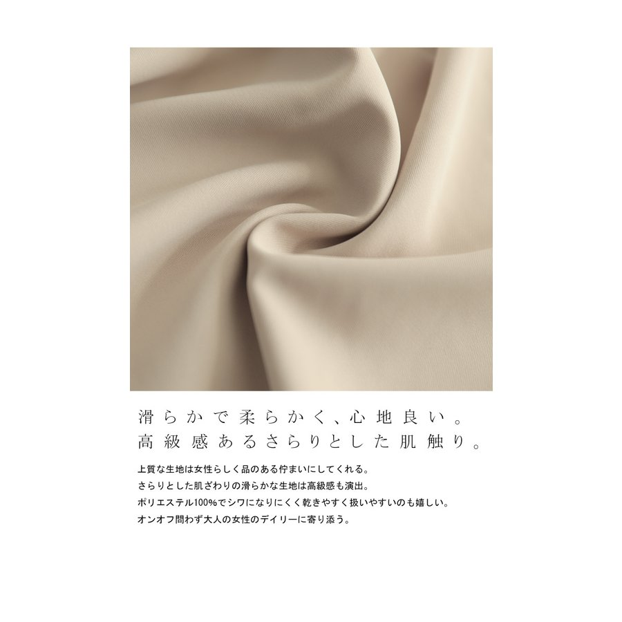 袖プリーツブラウス レディース トップス ブラウス 送料無料・再再販。メール便不可|antiqua|09