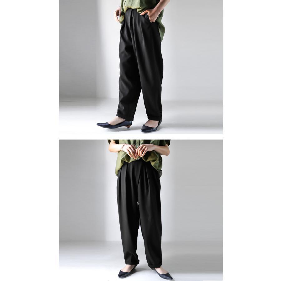 タックデザインパンツ パンツ レディース ボトムス ロング・再再販。メール便不可 antiqua 12