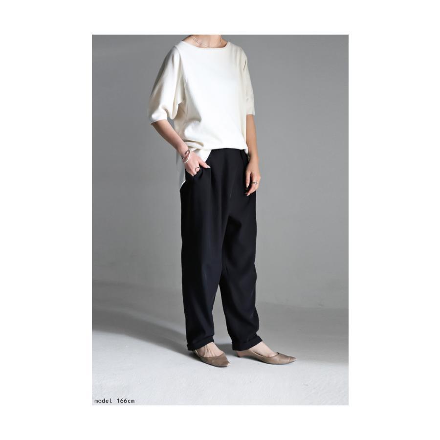タックデザインパンツ パンツ レディース ボトムス ロング・再再販。メール便不可 antiqua 13