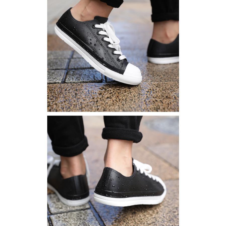 レインシューズ 靴 レディース シューズ スニーカー レイン 雨の日 防水・メール便不可 母の日|antiqua|04