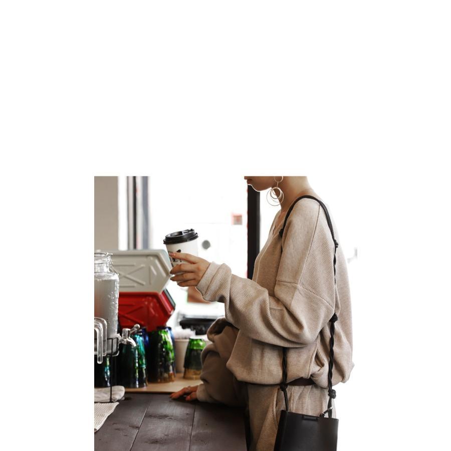 ルームウェア パジャマ ワンマイルウェア ワッフル セットアップ タウンウェア 上下セット・再再販。メール便不可 母の日|antiqua|15