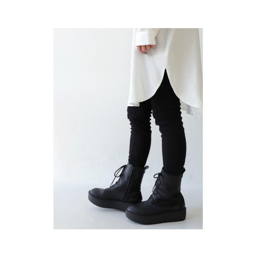 靴 ブーツ 厚底ブーツ レディース プラットフォーム 本革厚底ブーツ 送料無料・再再販。メール便不可|antiqua|09