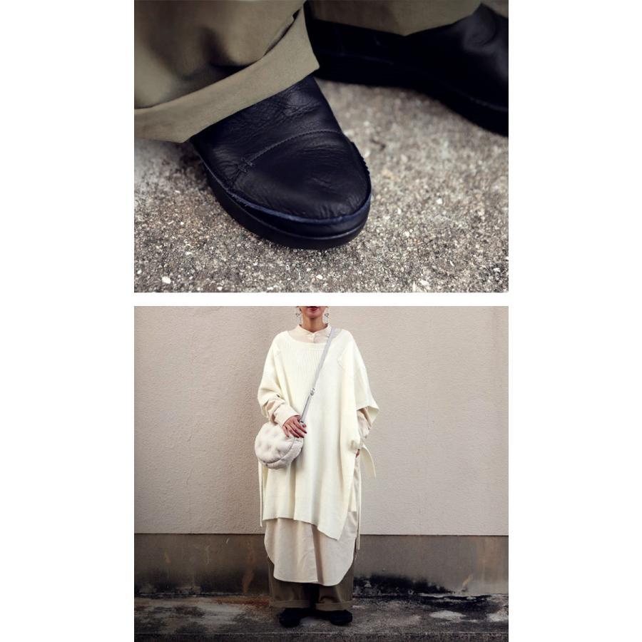 ブーツ レディース 本革 ショートブーツ 日本製 ジップアップ 厚底 送料無料・再販。メール便不可|antiqua|05