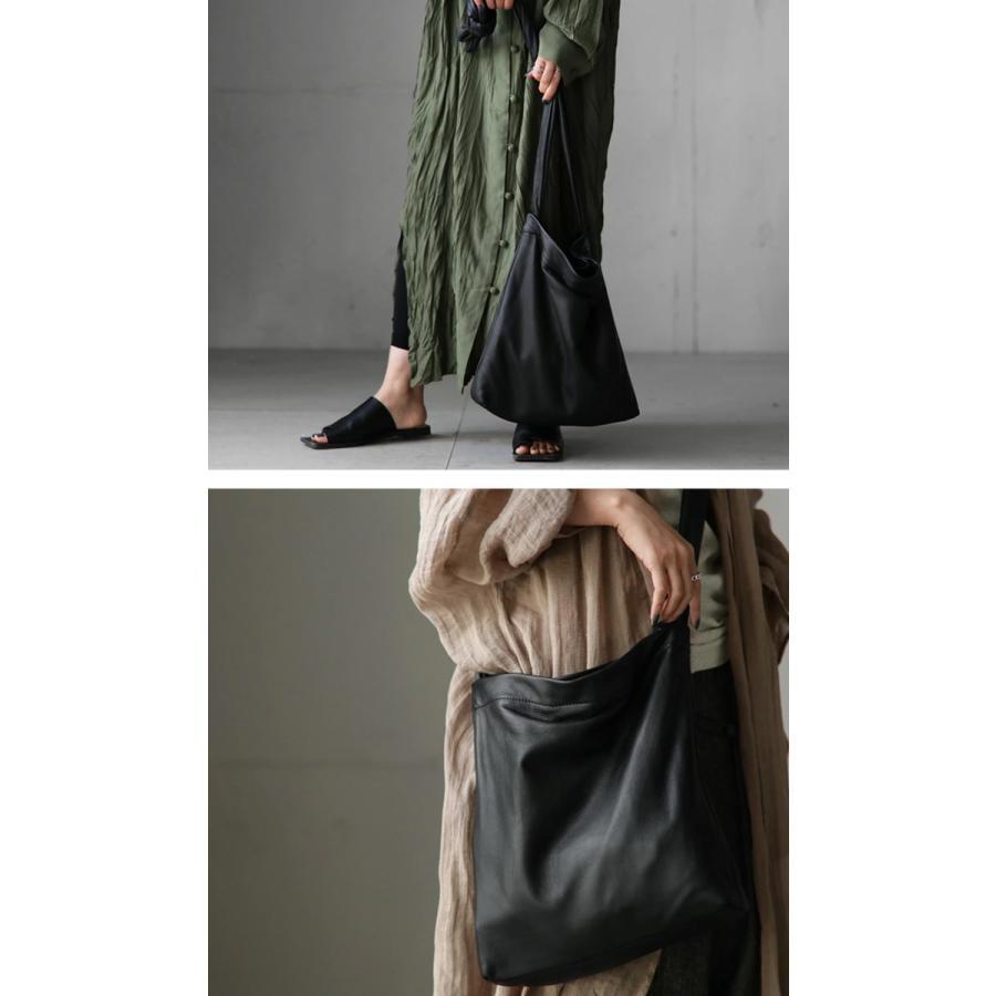 バッグ 鞄 レザー 本革 レディース トートバッグ 日本製 結びレザーバッグ・再再販。メール便不可 母の日|antiqua|18