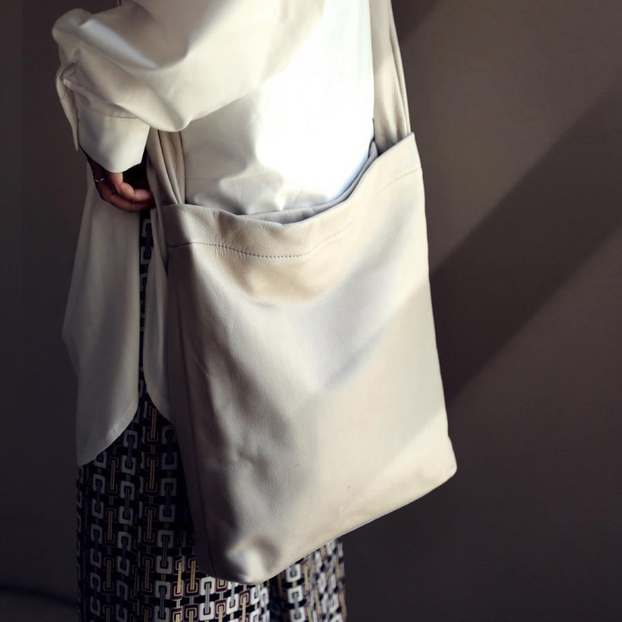 バッグ 鞄 レザー 本革 レディース トートバッグ 日本製 結びレザーバッグ・再再販。メール便不可 母の日|antiqua|20