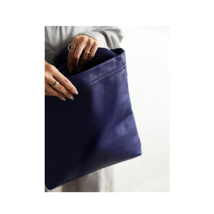 バッグ 鞄 レザー 本革 レディース トートバッグ 日本製 結びレザーバッグ・再再販。メール便不可 母の日|antiqua|05