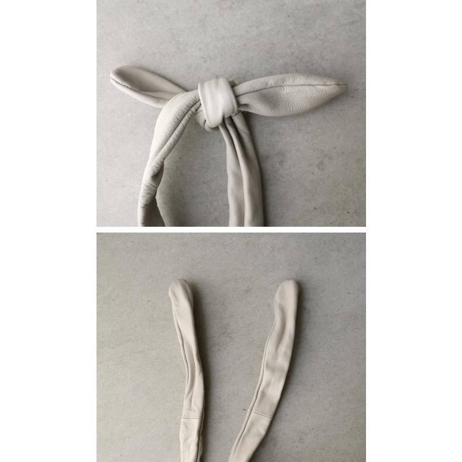 バッグ 鞄 レザー 本革 レディース トートバッグ 日本製 結びレザーバッグ・再再販。メール便不可 母の日|antiqua|09