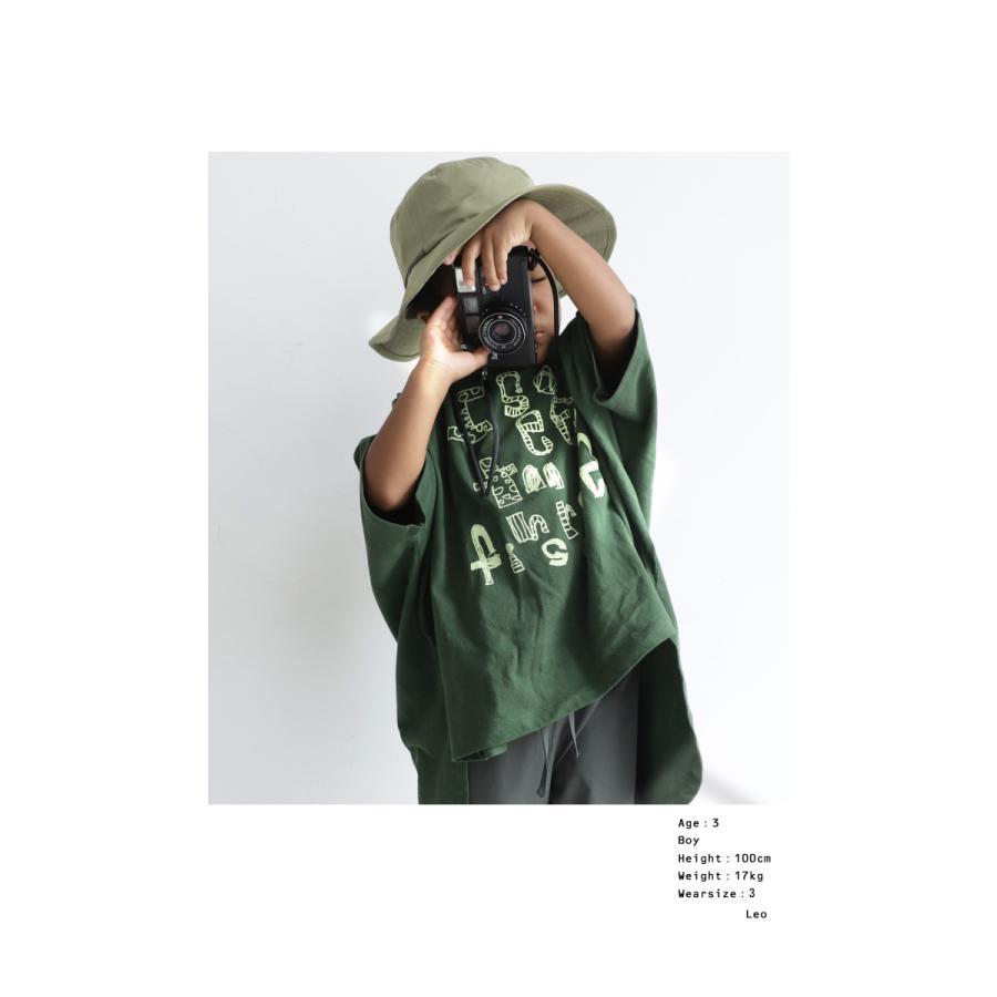 キッズ 子供服 女の子 カットソー 半袖 キッズトップス ワイドロゴT・再再販。100ptメール便可TOY|antiqua|11