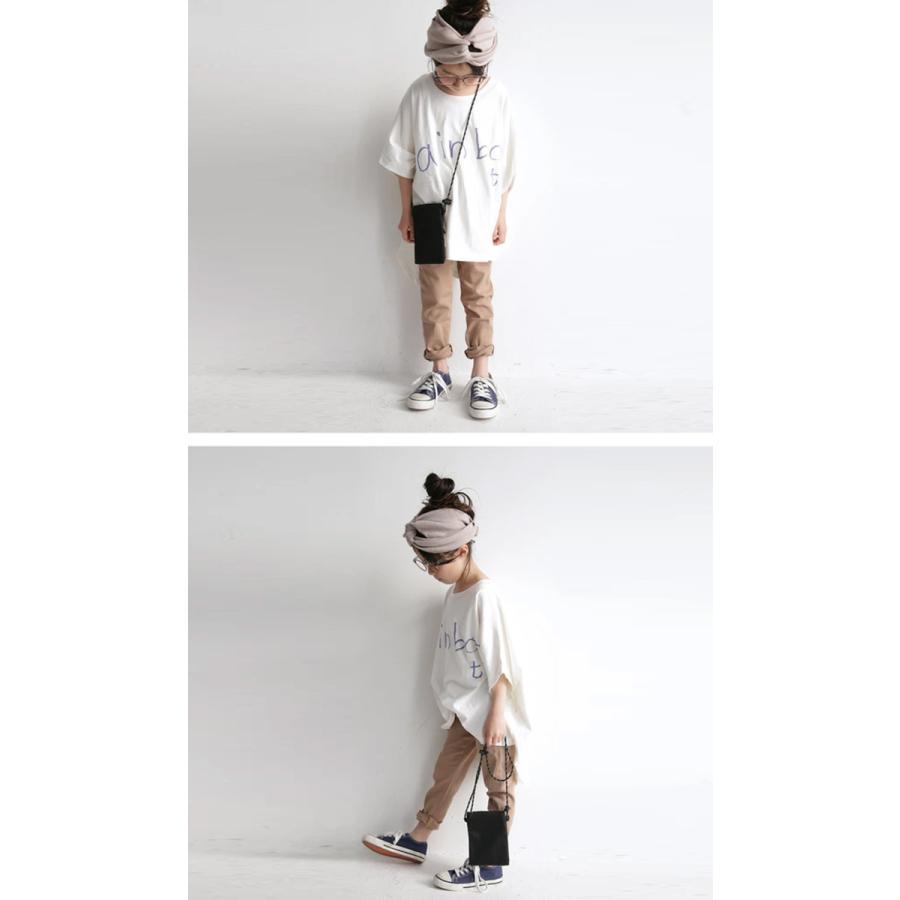 キッズ 子供服 女の子 カットソー 半袖 キッズトップス ワイドロゴT・再再販。100ptメール便可TOY|antiqua|19