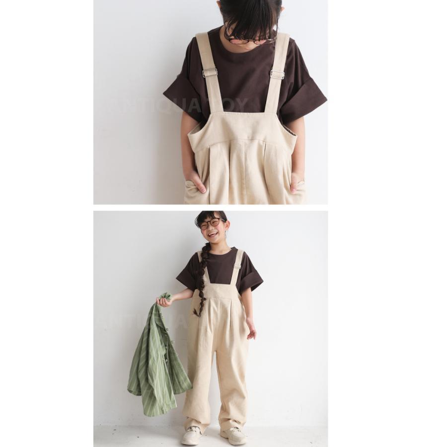 キッズトップス トップス プルオーバー Tシャツ 折返しスリーブデザインTシャツ・再再販。メール便不可TOY|antiqua|17